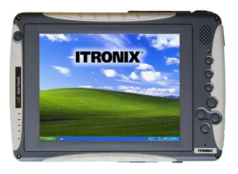General Dynamics Itronix rugged tablet
