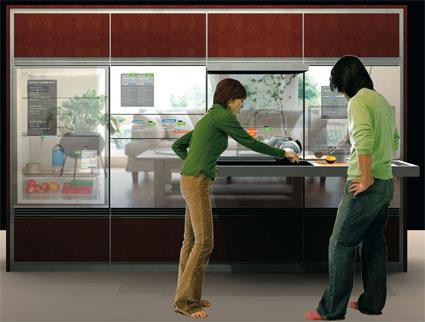 A cozinha do futuro segundo a General Electric