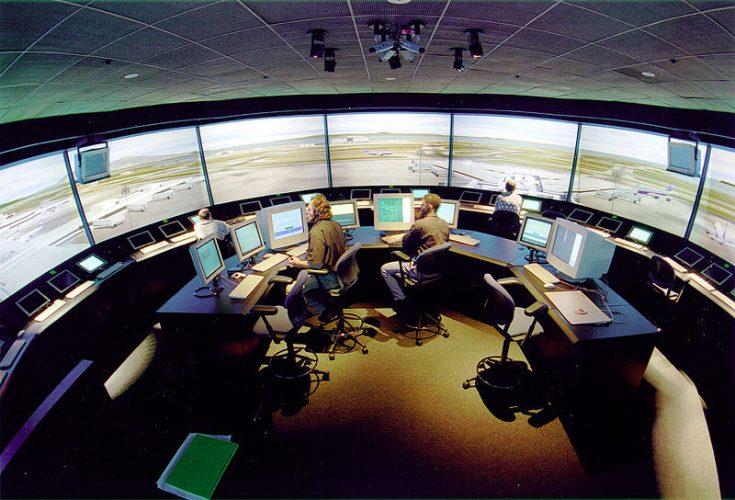 Aeroporto virtual de alta tecnologia da Nasa, para testar novas tecnologias relacionadas à aviação.