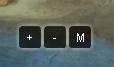 Ícones de zoom e  mouse.