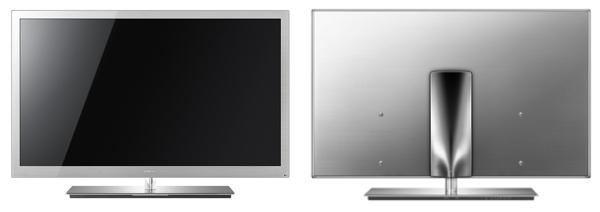 Aparência de uma TV de luxo