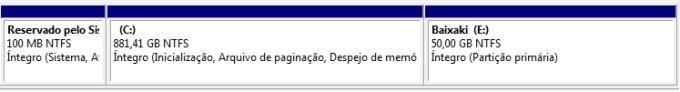 Criando uma partição no Windows 7 13007