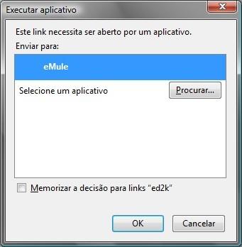 Executar aplicativo para inserir automaticamente no Emule