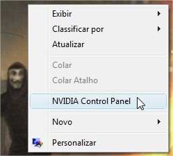 Acessar o Painel de Controle da NVIDIA