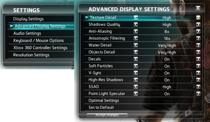 Configurações no máximo são ideais apenas para placas de última geração!