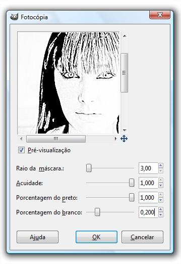 Configure o filtro