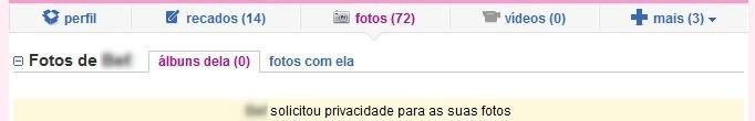 Existe privacidade no Orkut