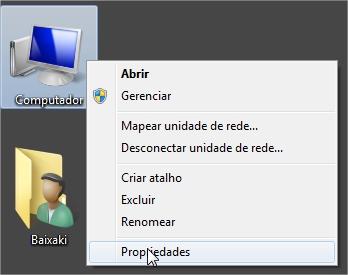 Acesse pelo ícone Meu Computador.
