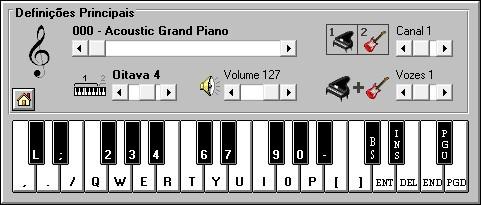 Piano eletrônico
