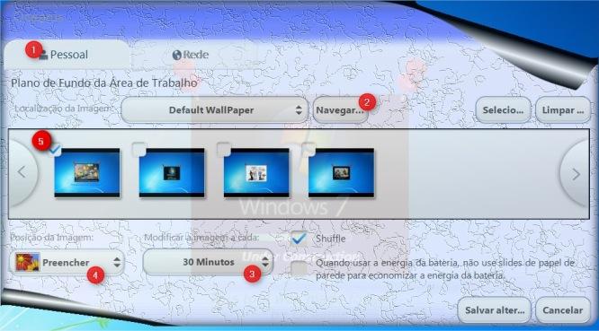 Interface bonitona do Oceanis.