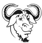 O simpático mascote do Projeto GNU
