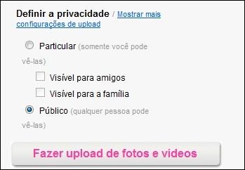 Em detalhe: filtros de privacidade