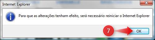 Reinicie o navegador
