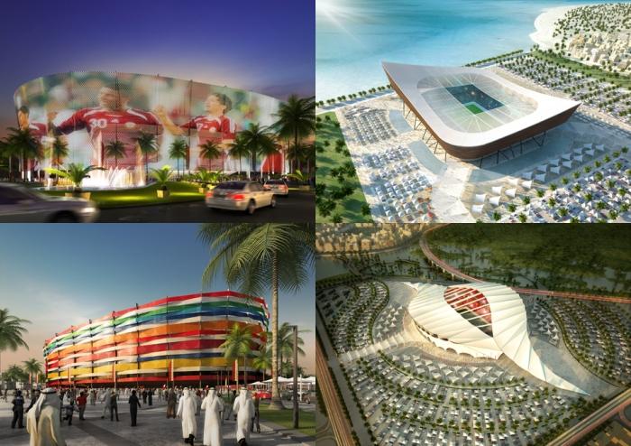 Projetos ambiciosos e ecologicamente corretos.