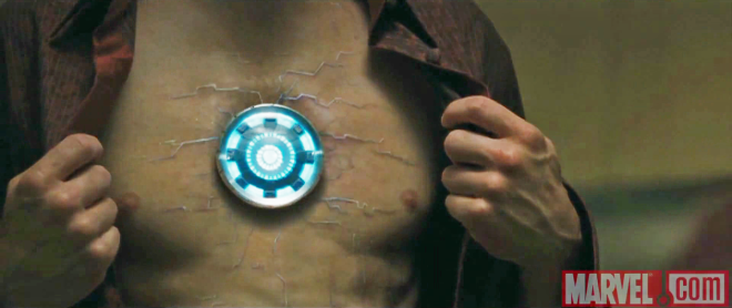 Reator ARC particular de Anthony Edward Stark