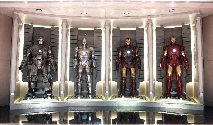 As várias armaduras do Homem de Ferro