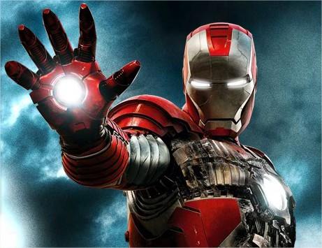 Canhões de plasma das mãos da armadura