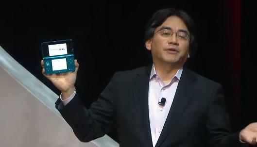 Satoru Iwata e o Nintendo 3DS