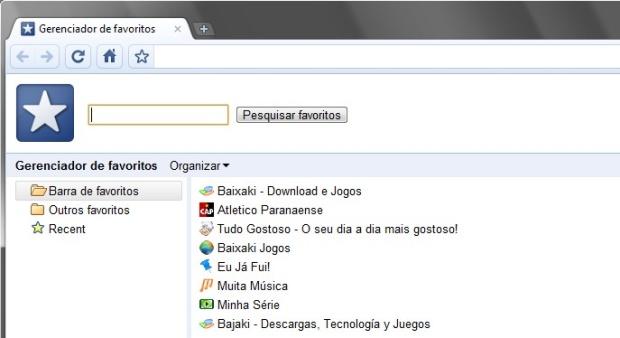 Navegando sem o mouse no Google Chrome