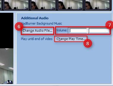 Adapte a música de acordo com sua necessidade.