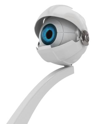 A webcam não tem taxas para alta resolução.