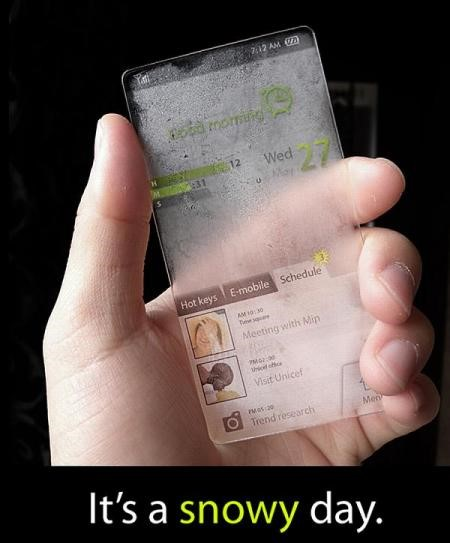 Visual do Window Phone. Imagem: Seunghan Song.