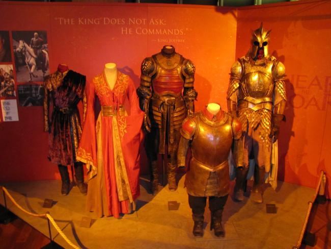 Exposição oficial de Game of Thrones estreia hoje, em São Paulo