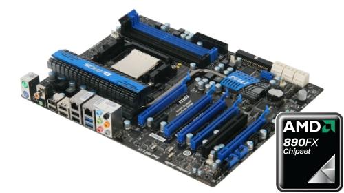 Placa-mãe da MSI que traz o novo chipset da AMD
