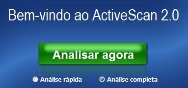 Panda Active Scan.