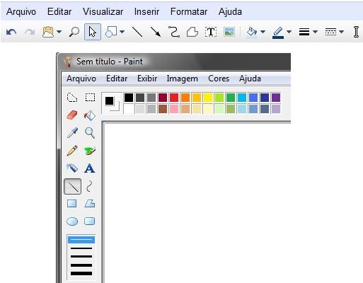 Google docs drawing ferramenta online aposenta o for Google paint online
