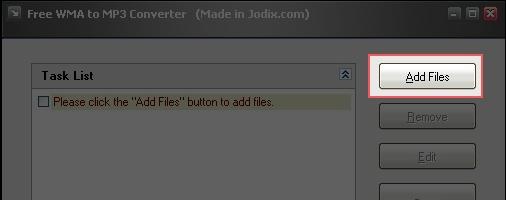 Adicione novos arquivos à lista