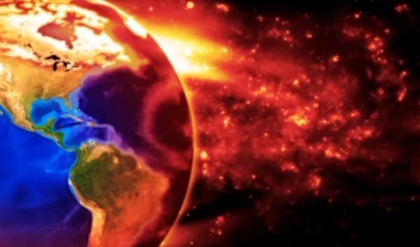 As tempestades solares ocorrem com frequência.