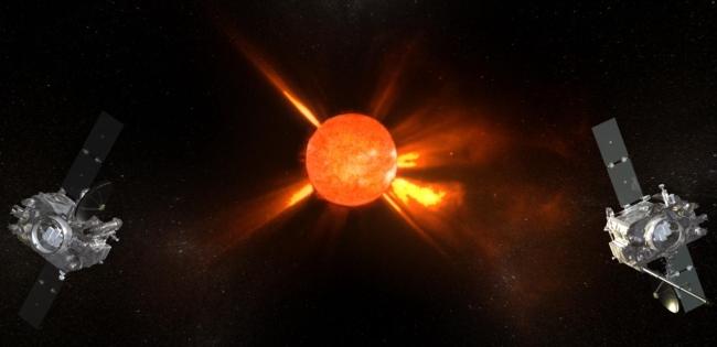 Satélites STEREO, da NASA.