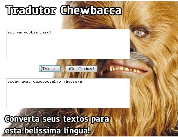 Chewbacca também é nerd