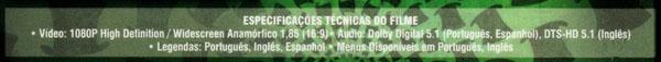 Detalhes técnicos do Blu-ray de Alice no País das Maravilhas