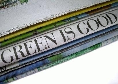 Verde é bom. Prepare-se para escutar mais sobre isso.