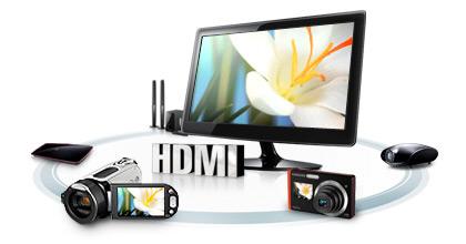 Conexão HDMI para alta definição