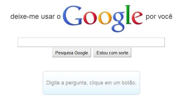Google, você pode me ajudar?