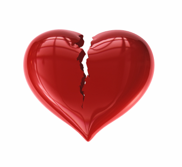 Corações quebrados