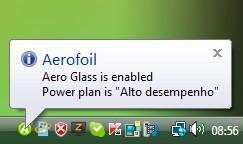 Reativando o Aero Glass