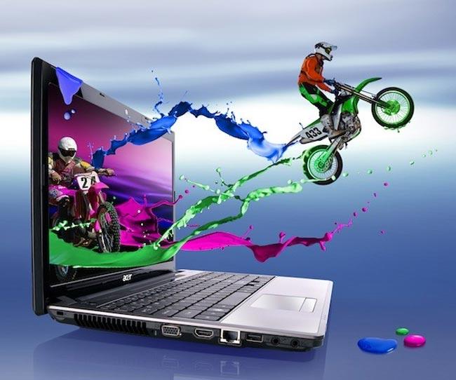 Acer lança o AS5745DG, um notebook com suporte a 3D