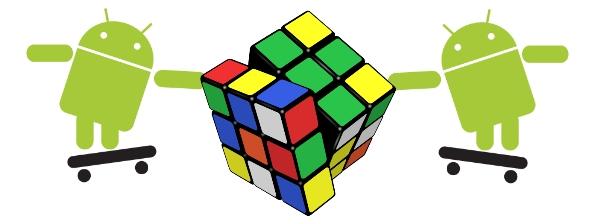 O resolvedor de cubos mágico chamado Android.