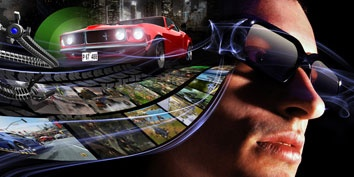 O 3D está chegando aos games online.