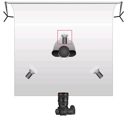 Luz atrás do retratado melhora a imagem de fundo