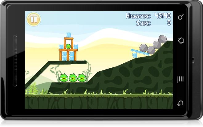 O número de jogos para Android está crescendo