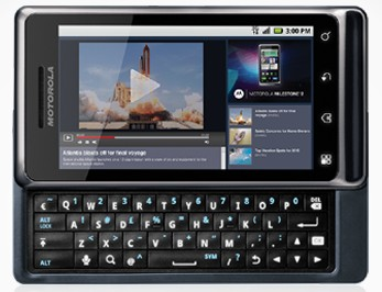 Motorola Milestone 2 lançado há pouco no Brasil