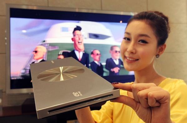 Samsung lança o Blu-ray player mais fino do mundo.