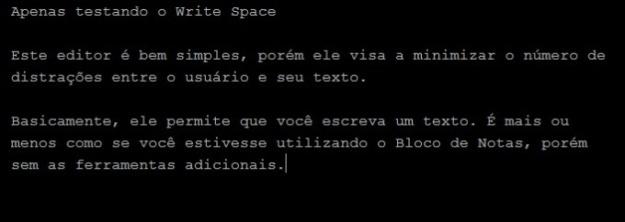 Write Space