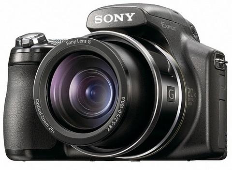 Sony DSC-HX1, superzoom semiprofissional
