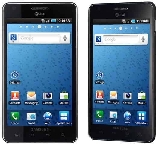 Novos smartphones Android